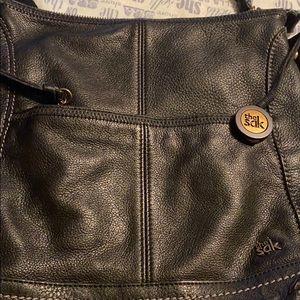 Black Sak purse nice purse cross body
